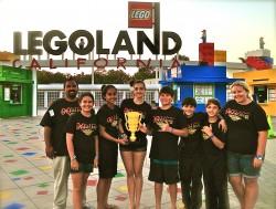 Golden Eyes at Legoland