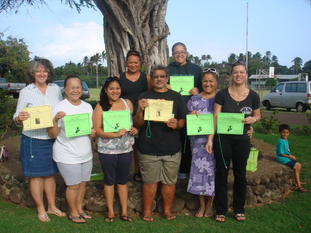 Participants from last season&#039;s Kilohana Weight Loss Challenge.