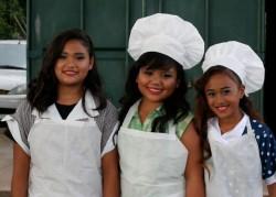 Ramie DeVera-Kuahuia-Supervisor, Malie Mendija-Ethel Mertz, Alea Davis-Lucille Ball - The Chocolate Factory sketch