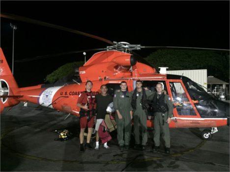 CG Kalaupapa rescue